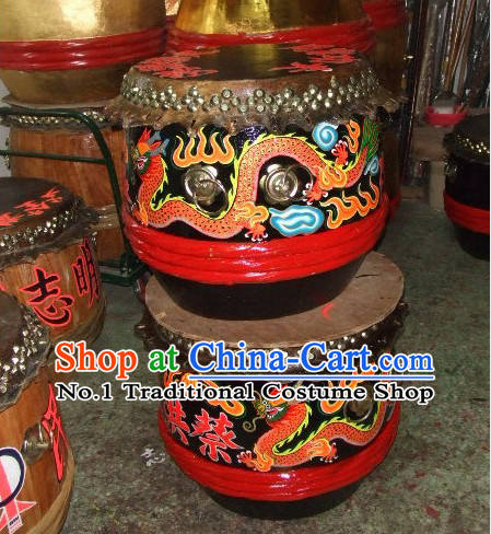 Handmade Chinese Lion Dancing Drum
