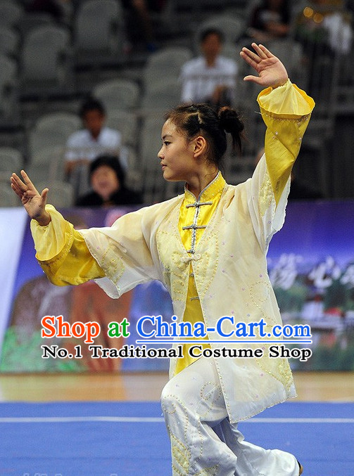 Top Color Change Tai Chi Qi Gong Yoga Clothing Yoga Wear Yoga Pants Yang Tai Chi Quan Uniforms for Women