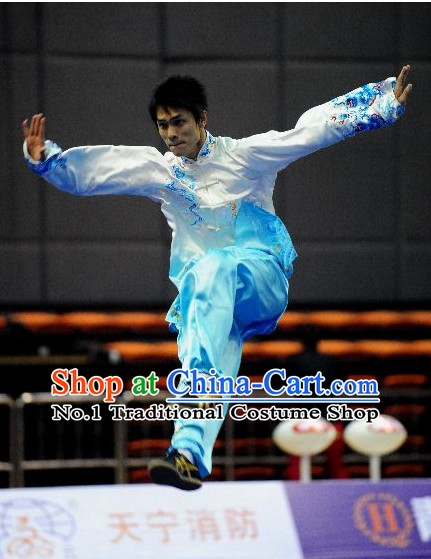 Top Colour Change Tai Chi Yoga Clothing Yoga Wear Yang Tai Chi Quan Kung Fu Pants and Blouse for Men