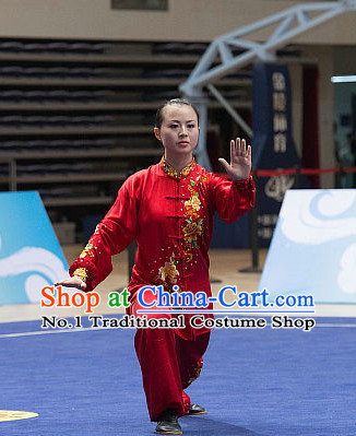 Top Tai Chi Costumes Taijiquan Costume Aikido Chikung Tichi Uniforms Quigong Uniform Thaichi Martial Art Qi Gong Combat Clothing Competition Uniforms for Women