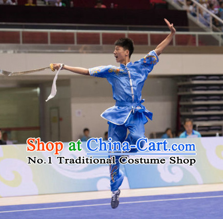 Top Kung Fu Broadsword Uniforms Martial Arts Training Uniform Gongfu Clothing Wing Chun Costume Shaolin Clothes Karate Suit for Men