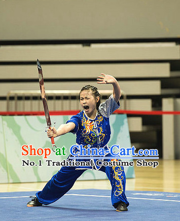 Top Kung Fu Broadsword Uniforms Martial Arts Training Uniform Gongfu Clothing Wing Chun Costume Shaolin Clothes Karate Suits for Women