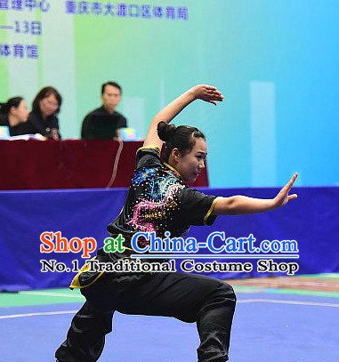 Top Chinese Xingyi Quan Hsing I Hsing Yi Hsing I Chuan Hsing I Forms Hsing Yi Training Kung Fu Uniforms Costumes Competition Suit for Women