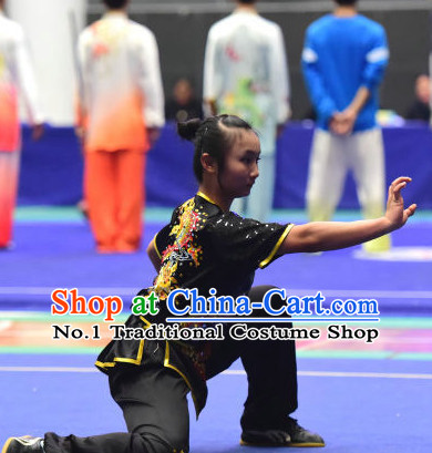 Top Chinese Eagle Claw Boxing or Eagle Claw Fist Uniforms Kung Fu Costumes Martial Arts Suits Competition Uniform