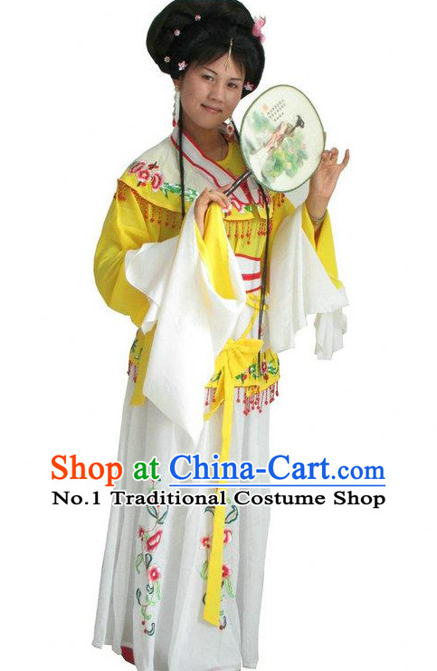 Chinese Opera Costumes Classical Water Dance Costume Dance Supply Dance Apparel Theatrical Costumes Complete Set for Women