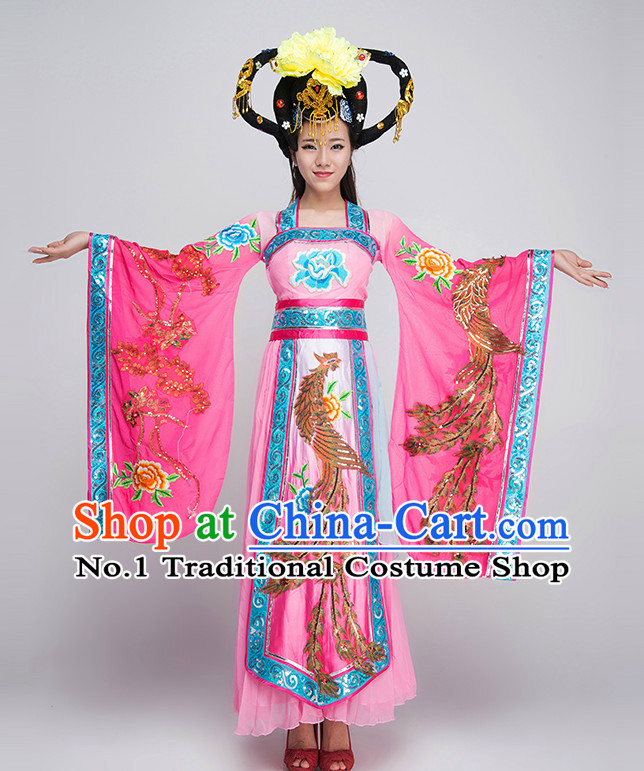Traditional Chinese Fairy Dance Costumes for Competition