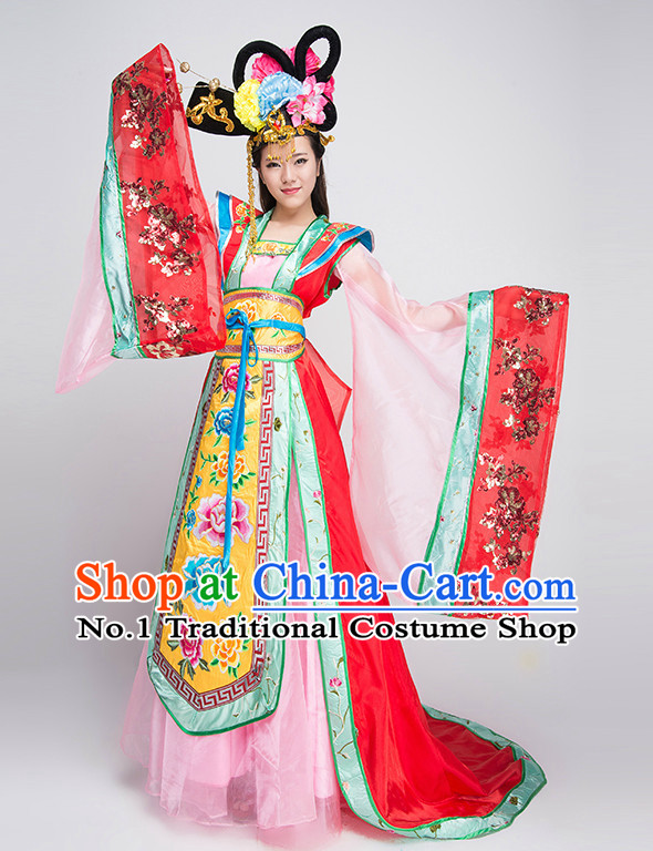 Professional Chinese Dance Costumes for Competition