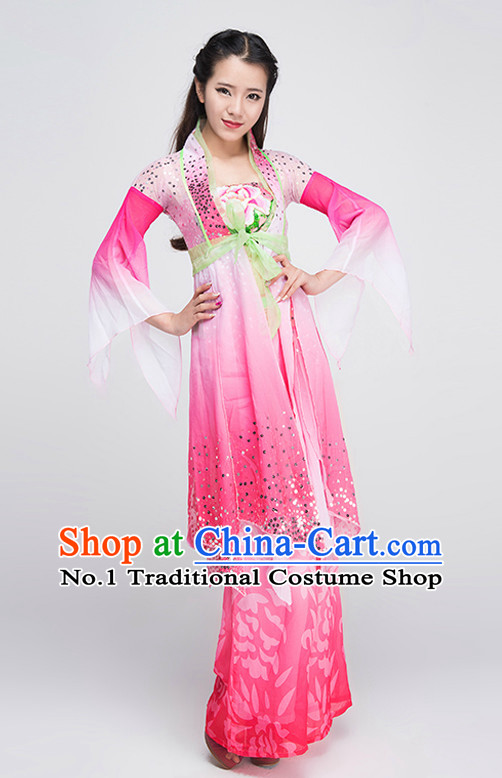 Professional Classical Dance Costumes Fairy Costumes Tinkerbell Costume Salsa Costumes Flapper Costume Burlesque Girls Dancewear Dance Costumes for Competition