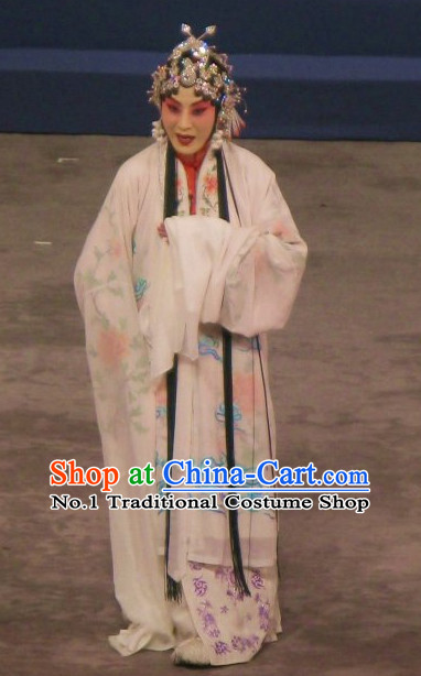 Chinese Culture Chinese Opera Costumes Chinese Cantonese Opera Beijing Opera Costumes Qing Yi Costumes Complete Set for Women