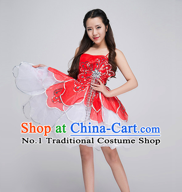 Professional Flower Dance Costumes for Competition