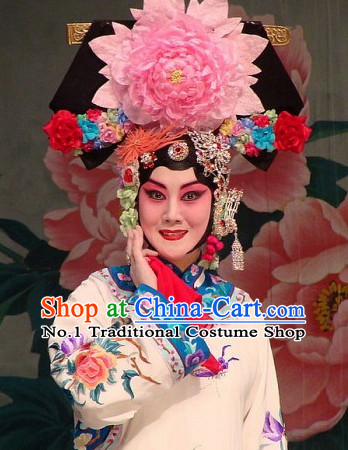 Professional Chinese Opera Princess Hair Accessories Set