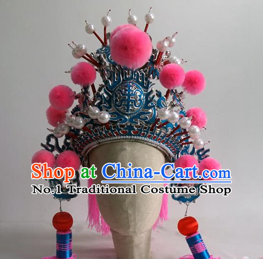Chinese Traditional Wu Sheng General Helmet