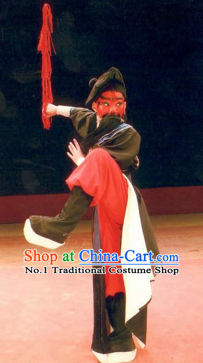 Asian Fashion China Traditional Chinese Dress Ancient Chinese Clothing Chinese Traditional Wear Chinese Wu Sheng Costumes and Hat for Kids