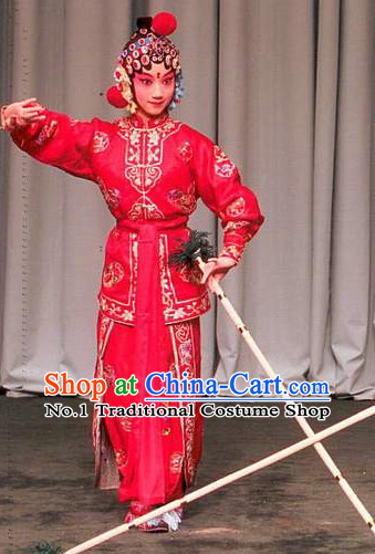 Asian Fashion China Traditional Chinese Dress Ancient Chinese Clothing Chinese Traditional Wear Chinese Opera Wu Tan Costumes for Kids