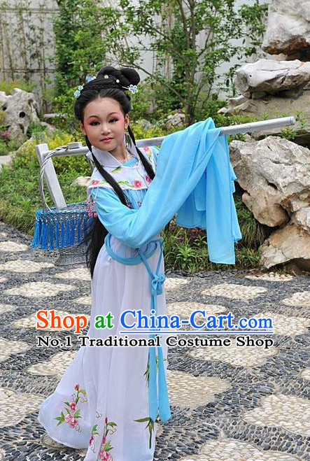 Asian Fashion China Traditional Chinese Dress Ancient Chinese Clothing Chinese Traditional Wear Chinese Opera Lin Daiyu Costumes for Kids