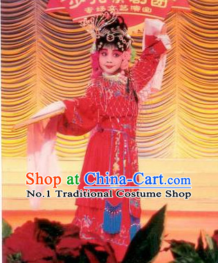 Asian Fashion China Traditional Chinese Dress Ancient Chinese Clothing Chinese Traditional Wear Chinese Opera Female Costumes for Children