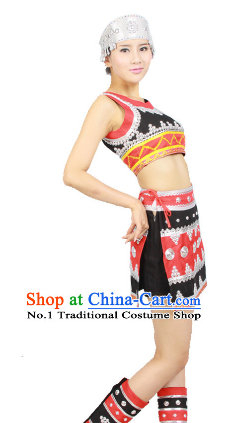 Asian Fashion China Dance Apparel Dance Stores Dance Supply Discount Chinese Minority Dance Costumes for Women