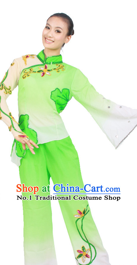 Asian Fashion China Dance Apparel Dance Stores Dance Supply Discount Chinese Han Lotus Dance Costumes for Women
