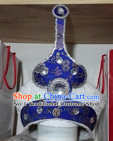 Chinese Peking Opera Theatrical Costumes Ethnic Prince Hat
