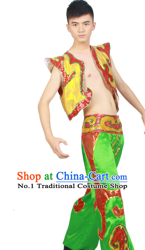 Asian Fashion China Dance Apparel Dance Stores Dance Supply Discount Chinese Dance Costumes for Men