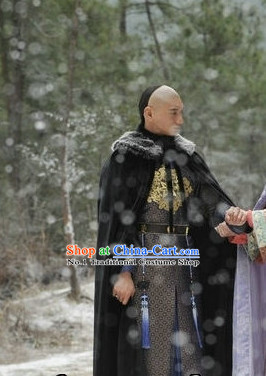 Chinese Qing Prince Black Cape