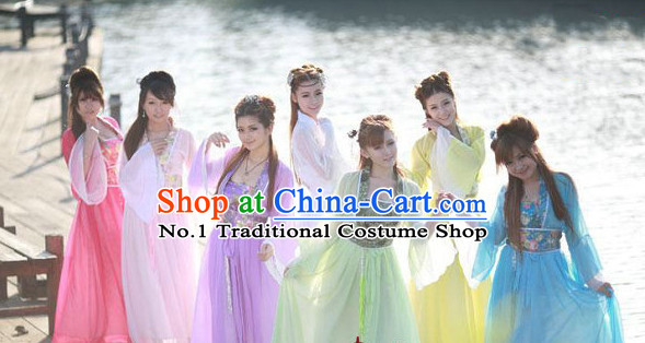 Chinese Ancient Style Fairy Costumes for Women