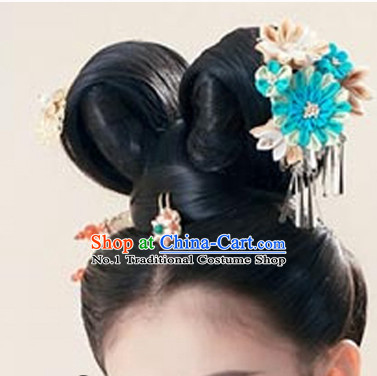 Chinese Traditional Hair Extensions and Hair Jewelry