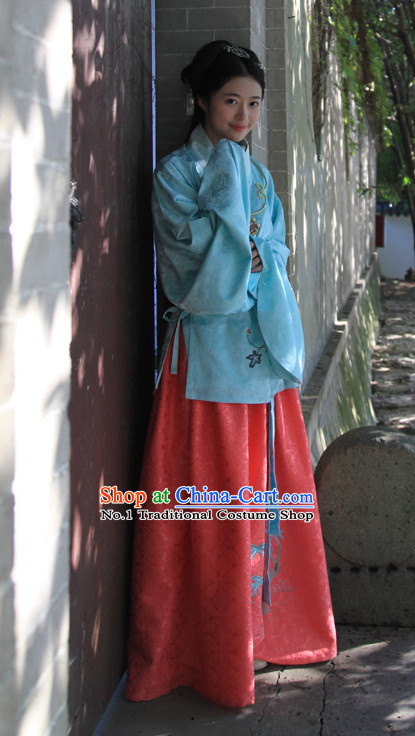 Chinese Ming Dynasty Clothes Hanfu Designer Dresses Plus Size Costumes for Women