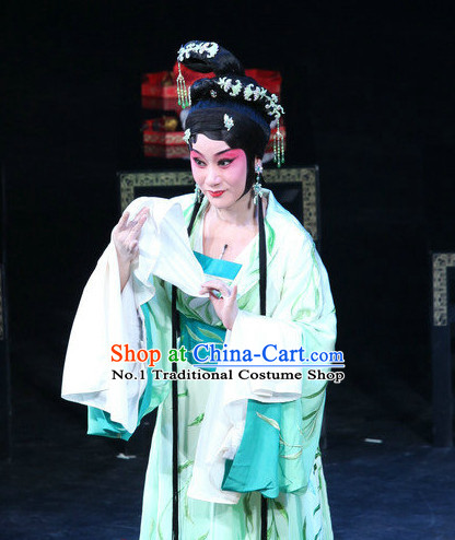 Chinese Beijing Opera Hair Accessories and Wigs