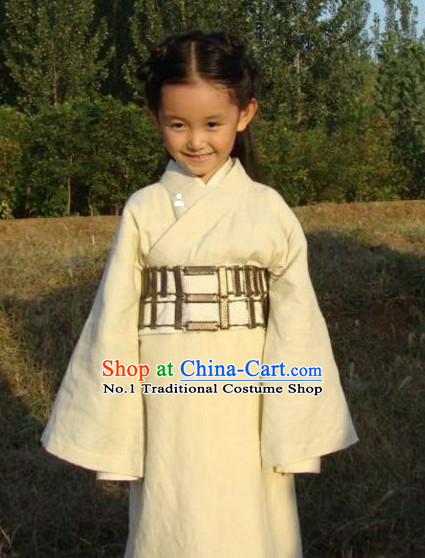 Chinese Traditional Hanfu Dress for Kids