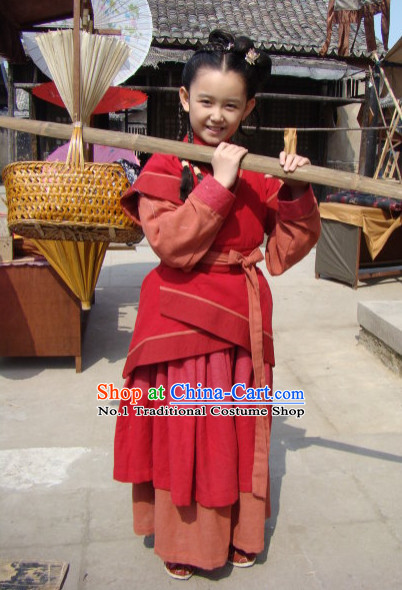 Ancient Chinese Costumes for Adults and Kids