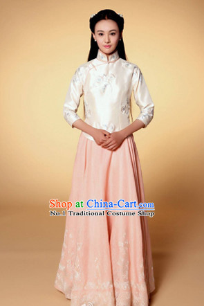 Chinese Minguo Time Female Garment Suits