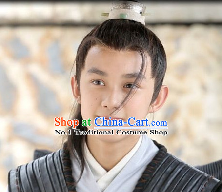 Ancient Chinese Wig for Kids, Teenagers and Adults