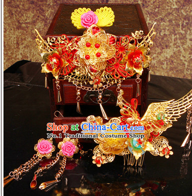 Ancient Chinese Wedding Headwear for Women