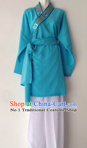 Chinese Goddess Marriage Dong Yong Farmer Costumes Complete Set