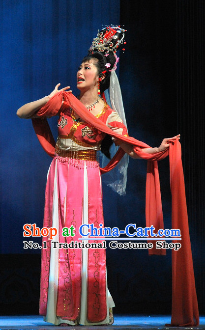 Chinese Classical Fairy Beijing Opera Dance Costumes