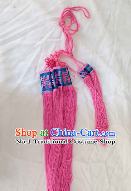 Chinese Handmade Beijing Opera Belt Decorations