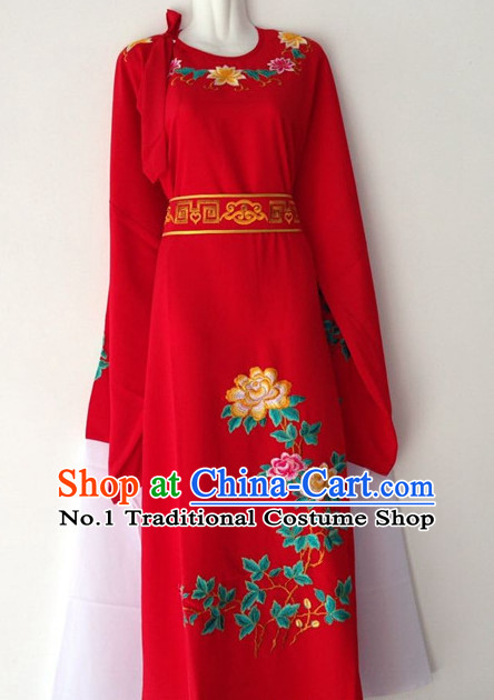 Chinese Beijing Opera Xiao Sheng Long Dress Costumes