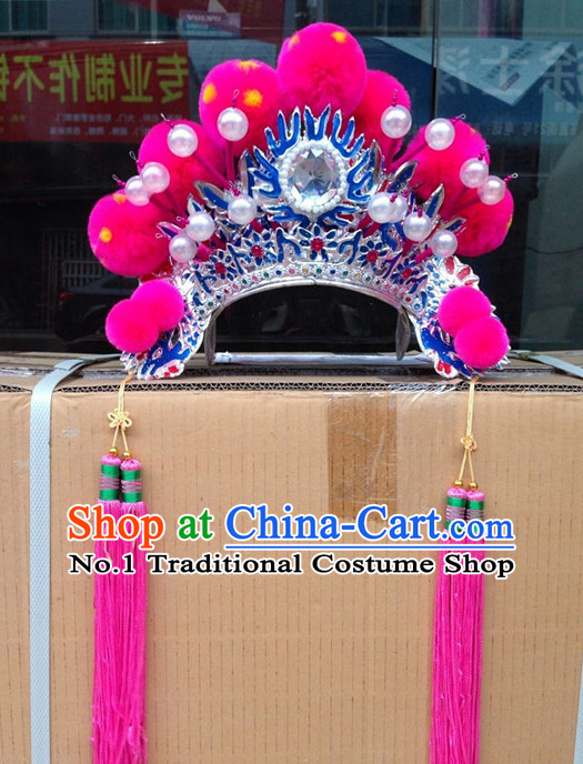 Chinese Beijing Opera Hat for Ladies