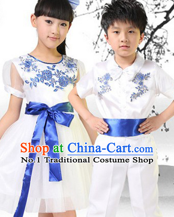 Asian Fashion Chinese Kids Fan Dancewear
