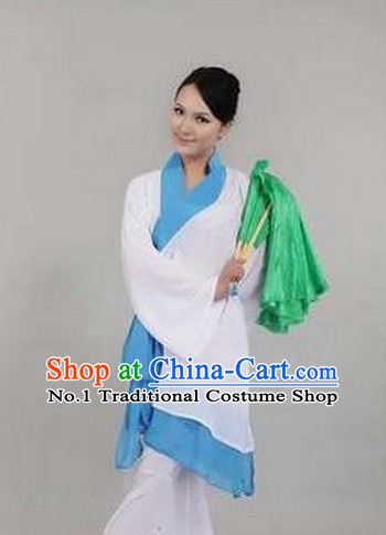 Chinese Han Minority Folk Dance Costumes Dancewear