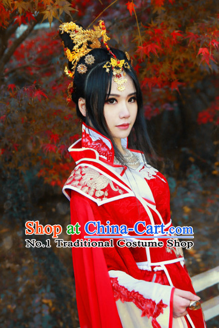 Chinese Traditional Princess Hair Accessories Phoenix Set