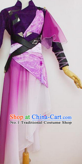 Chinese Style Female Warrior Costumes