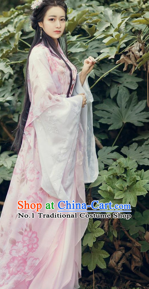Chinese Style Female Hanfu Dress