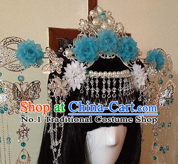 Chinese Style Female Handmade Empress Hair Accessories