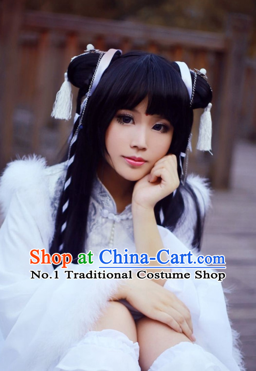 Chinese Style Female Fairy Wigs