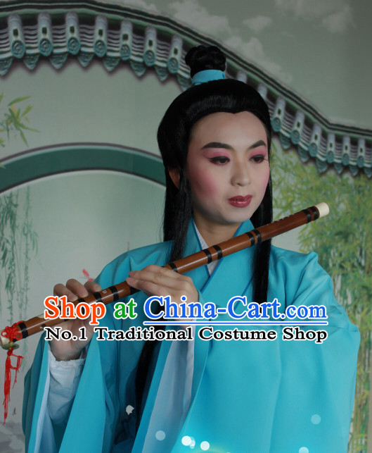 Chinese Style Beijing Opera Wide Sleeve Dong Yong Costumes for Men