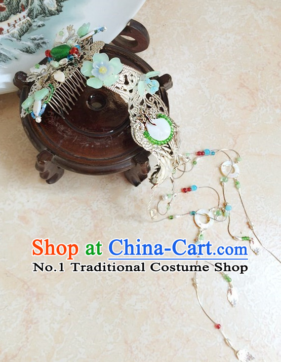 Traditional Chinese Handmade Hair Accessories Hair Pins Hair Jewelry with Hangings