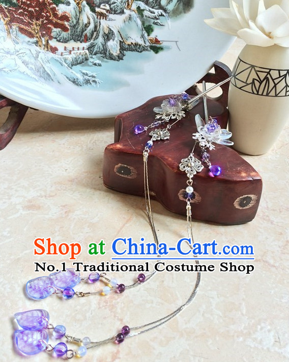 Traditional Chinese Empress Handmade Hair Pieces Hair Accessories Hair Jewelry Set