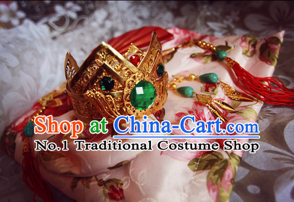 Chinese Handmade Princess Crown Hair Accessories